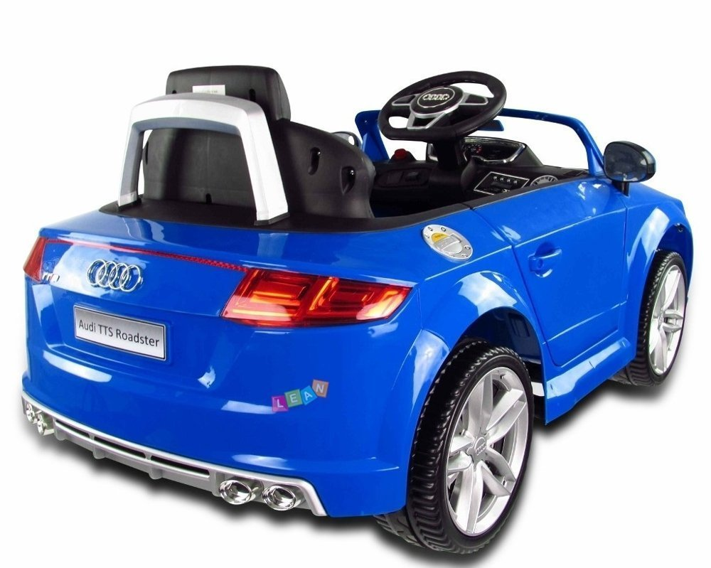 audi tt rs blue electric ride on car electric ride on vehicles cars. Black Bedroom Furniture Sets. Home Design Ideas