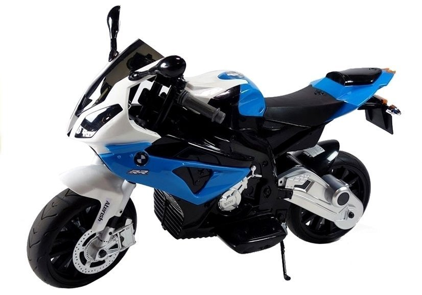 bmw s1000rr blue - electric ride on motorcycle   electric ride-on