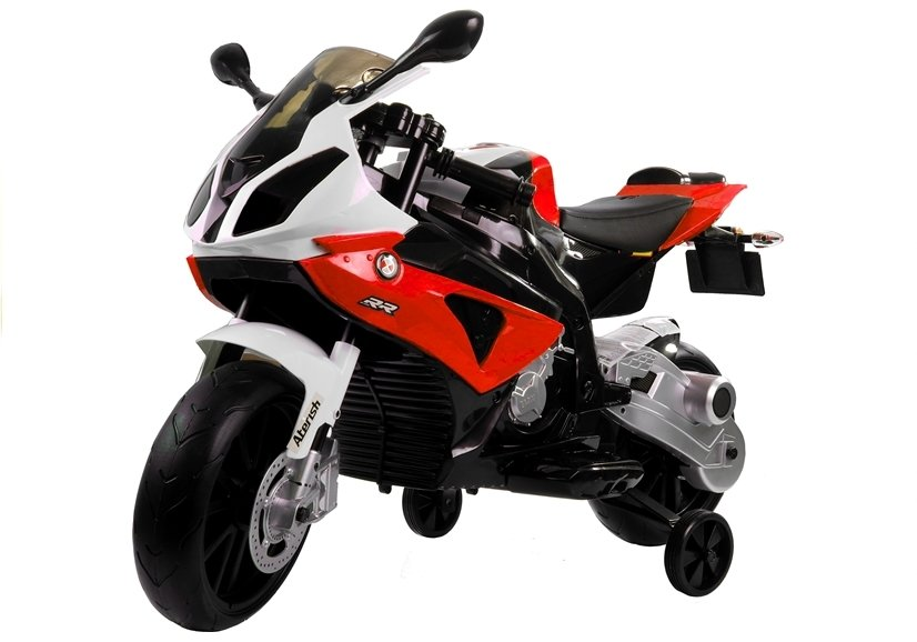 bmw s1000rr red - electric ride on motorcycle   electric ride-on