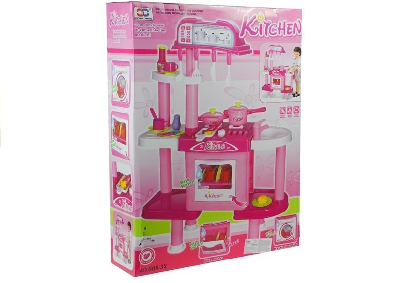Giant kitchen set with accessories role play game for for Kitchen set games
