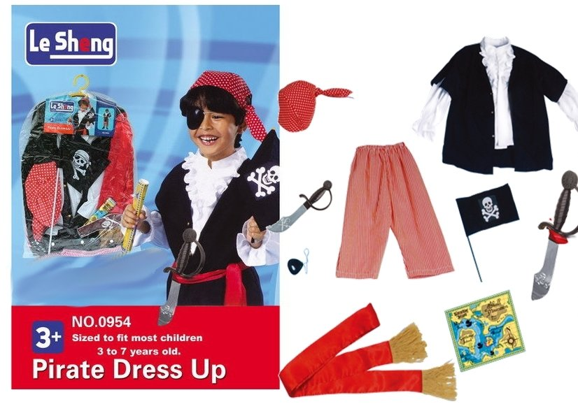 ... Kids Children Costume Pirate Police Officer Dress Up ...  sc 1 th 188 & Kids Children Costume Pirate Police Officer Dress Up | Toys ...