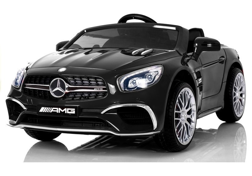 mercedes benz sl65 black electric ride on electric. Black Bedroom Furniture Sets. Home Design Ideas
