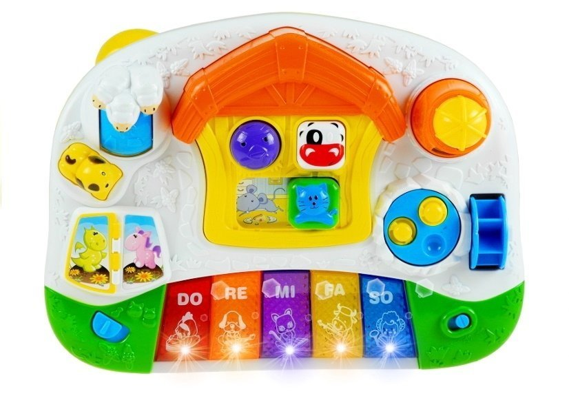 Musical Learning Toys : Musical learning table interactive educational toy toys