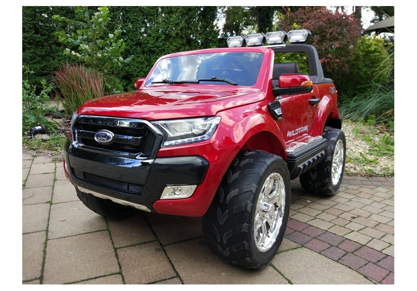 new ford ranger red painting 4x4 electric ride on car. Black Bedroom Furniture Sets. Home Design Ideas