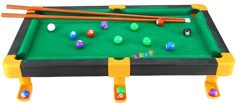 ... Portable pool table billiard kids game with accessories ...