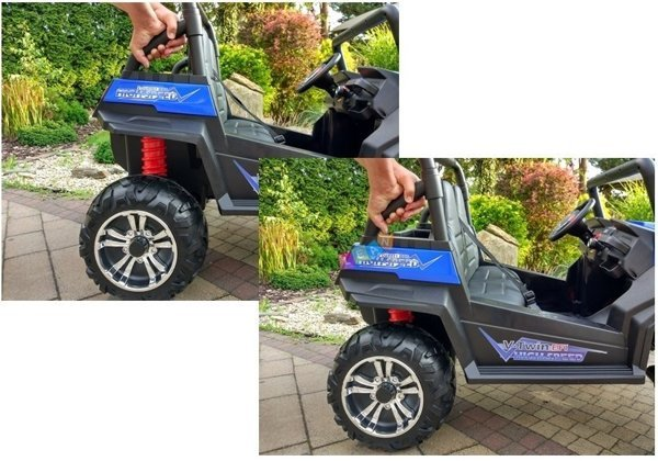 4x4 Buggy Blue - Electric Ride On Car