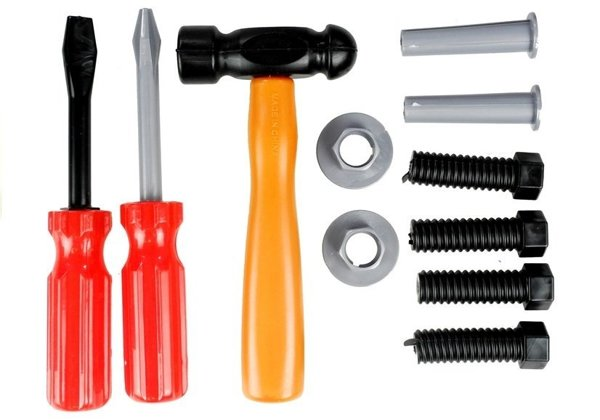 Box With Tools For Handyman Big Set 31 Pieces