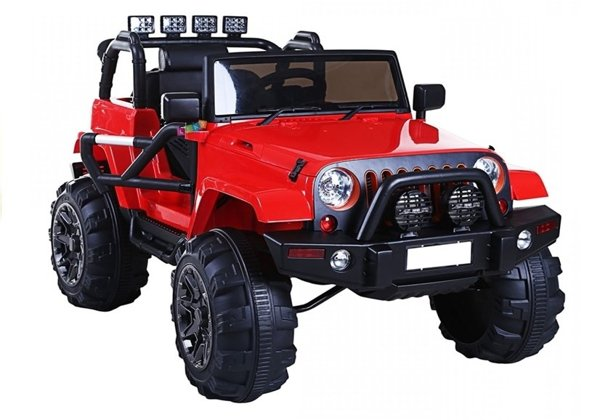 Jeep WH88 Red - Electric Ride On Car