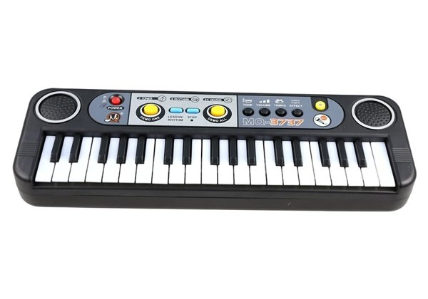 Keyboard With A Microphone Electric