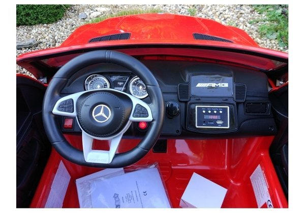 Mercedes GLS63 Red - Electric Ride On Car