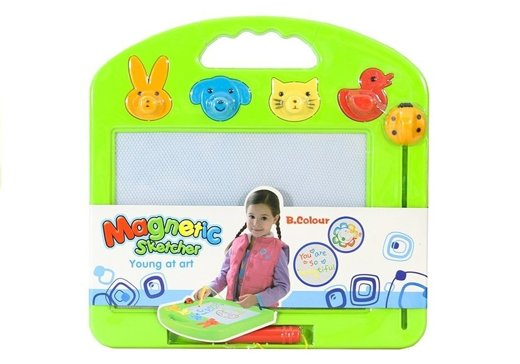 Magical Drawing Board with Pen and Stamps