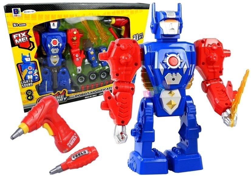set zum schrauben roboter zum schrauben spielzeug spielzeug werkst tten werkzeuge. Black Bedroom Furniture Sets. Home Design Ideas