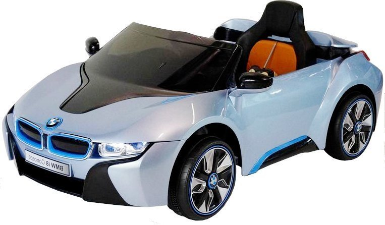 elektroauto kinder bmw i8 blau elektrofahrzeuge autos. Black Bedroom Furniture Sets. Home Design Ideas