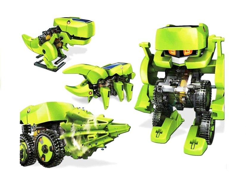 4 in 1 solar bausatz kit roboter auto dino insekt spielzeug f r kinder 10 spielzeug basteln. Black Bedroom Furniture Sets. Home Design Ideas