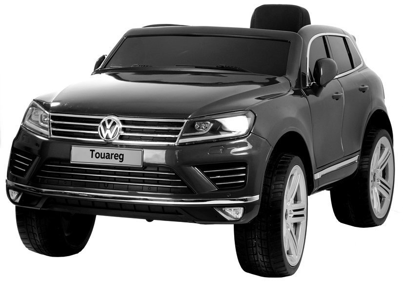 auto f r kinder volkswagen touareg kinderfahrzeug schwarz. Black Bedroom Furniture Sets. Home Design Ideas