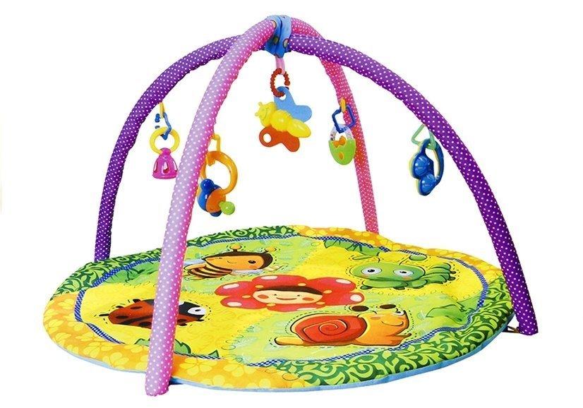 baby krabbeldecke spieldecke spielbogen erlebnisdecke rund 4 varianten spielzeug f r babys. Black Bedroom Furniture Sets. Home Design Ideas