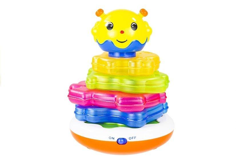 Baby ringturm interaktive spielpyramide mit licht und