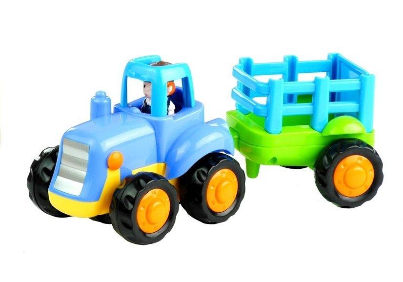 Baufahrzeuge bagger betonmischer kipper traktor mit