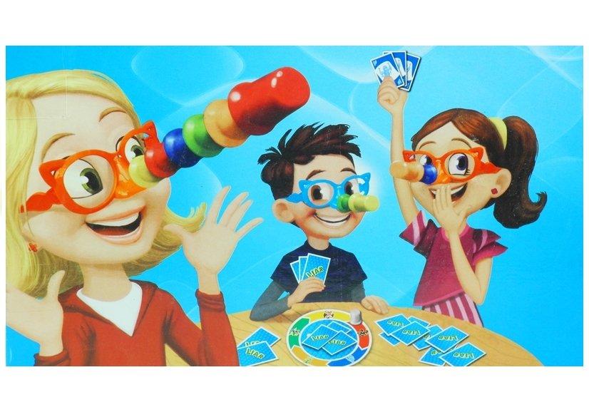 Brettspiel liar spiel set karten brille mit der nase