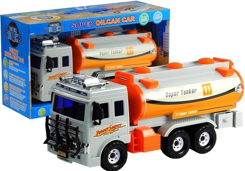 gro er tankwagen bewegliche elemente auto spielzeug f r. Black Bedroom Furniture Sets. Home Design Ideas
