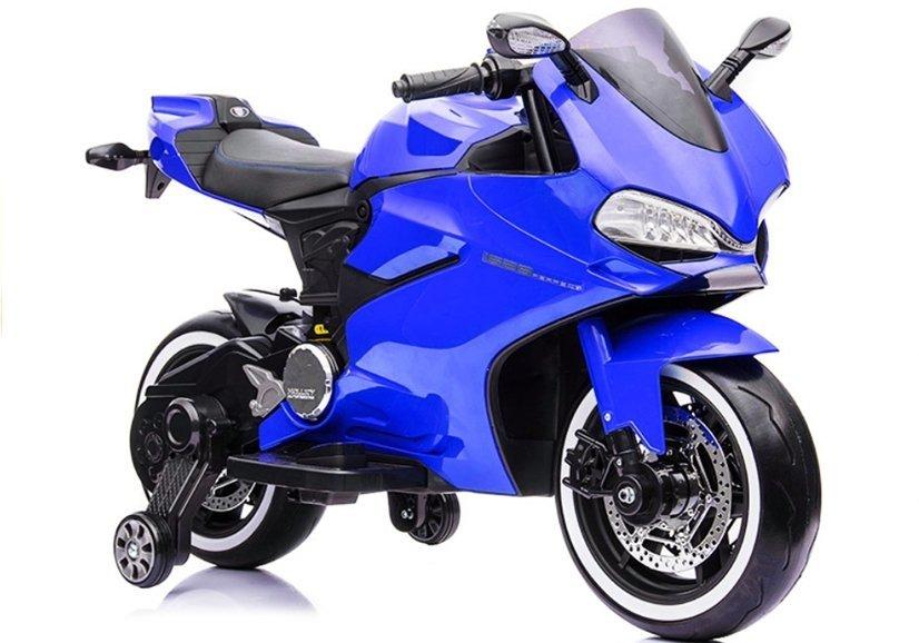 motorrad sx1628 blau ledersitz usb eingang sd motorrad f r. Black Bedroom Furniture Sets. Home Design Ideas