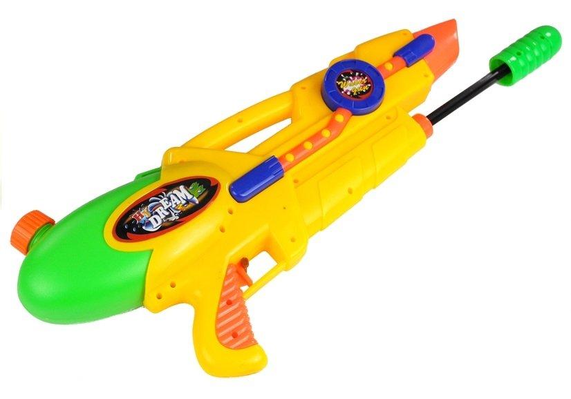 Wasserpistole gelb spielzeug für kinder