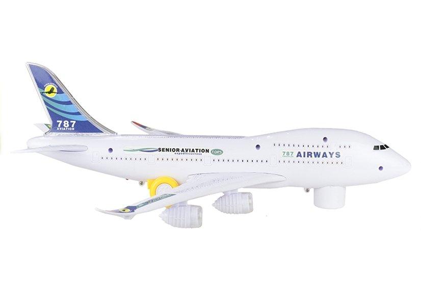 Elektrisches flugzeug boeing airbus sound und