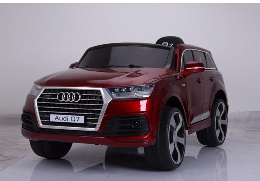 elektroauto f r kinder audi q7 standard eva reifen rot. Black Bedroom Furniture Sets. Home Design Ideas