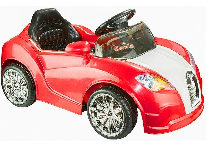 elektroauto f r kinder bugati rot elektrofahrzeuge autos. Black Bedroom Furniture Sets. Home Design Ideas