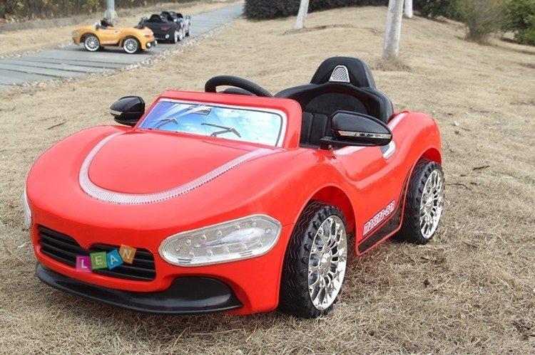 elektroauto f r kinder hp5188 rot eva reifen 2 4g fernbedienung elektrofahrzeuge autos. Black Bedroom Furniture Sets. Home Design Ideas