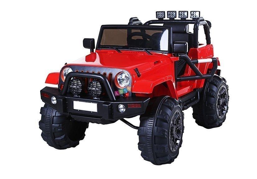 Elektroauto für Kinder Jeep WH88 Rot 24G RC EVAReifen