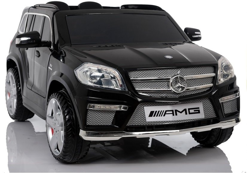elektroauto f r kinder mercedes gl63 amg schwarz eva. Black Bedroom Furniture Sets. Home Design Ideas