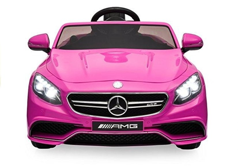 elektroauto f r kinder mercedes s63 amg pink. Black Bedroom Furniture Sets. Home Design Ideas