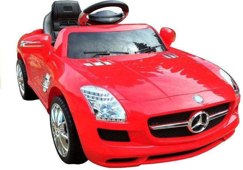 elektroauto f r kinder mercedes sls amg rot 2 4g fernbedienung elektrofahrzeuge autos. Black Bedroom Furniture Sets. Home Design Ideas