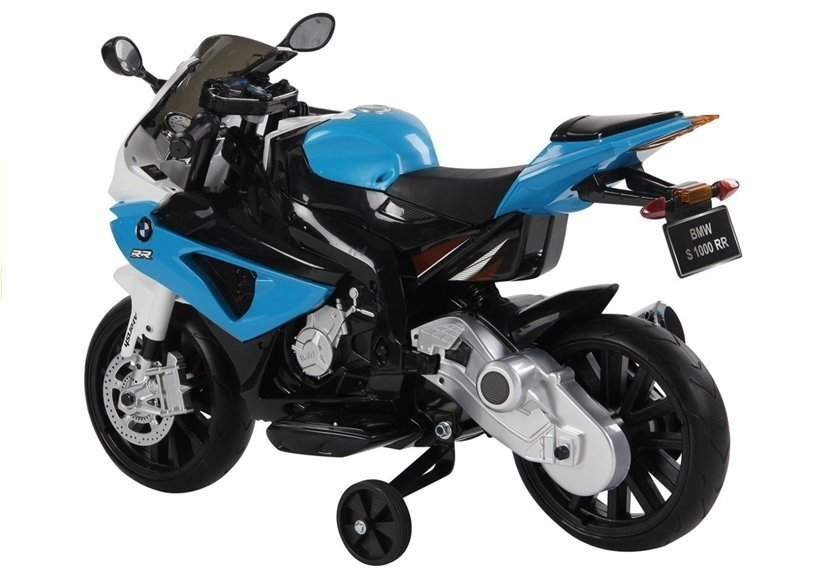 elektromotorrad f r kinder bmw s1000rr blau. Black Bedroom Furniture Sets. Home Design Ideas