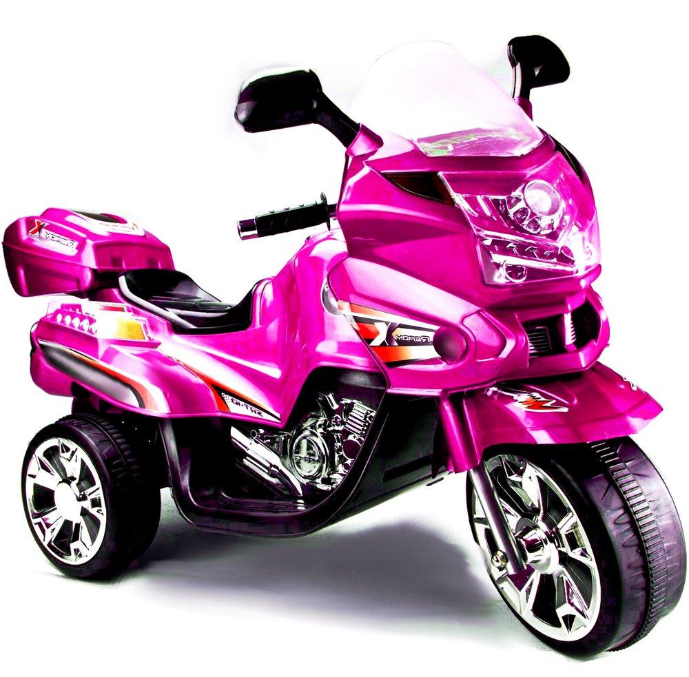 elektromotorrad f r kinder f928 pink elektrofahrzeuge motorr der. Black Bedroom Furniture Sets. Home Design Ideas