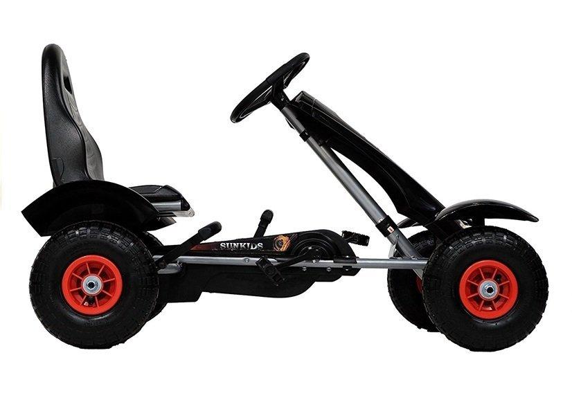 gm18 go kart schwarz fahrzeug go kart f r kinder rennsport. Black Bedroom Furniture Sets. Home Design Ideas