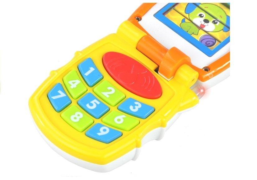 handy spielzeugtelefon kindertelefon spielzeug f r kinder melodien spielzeug f r babys. Black Bedroom Furniture Sets. Home Design Ideas
