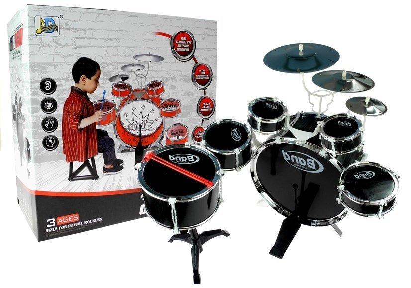 Jazz Drum Schlagzeug Spielzeug 5 Trommel 3 Becken Musikinstrument ...