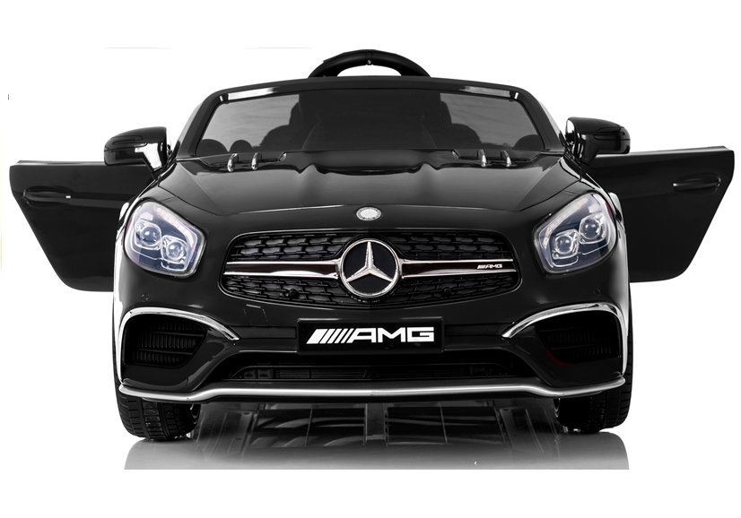 kinderfahrzeug mercedes sl65 auto f r kinder schwarz. Black Bedroom Furniture Sets. Home Design Ideas