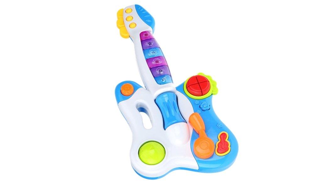 Kindergitarre spielzeugsgitarre gitarre für baby licht