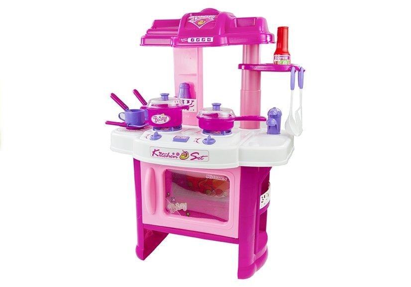 Kinderküche Spielküche Kinder Kinderspielküche Blau Sound Licht ...
