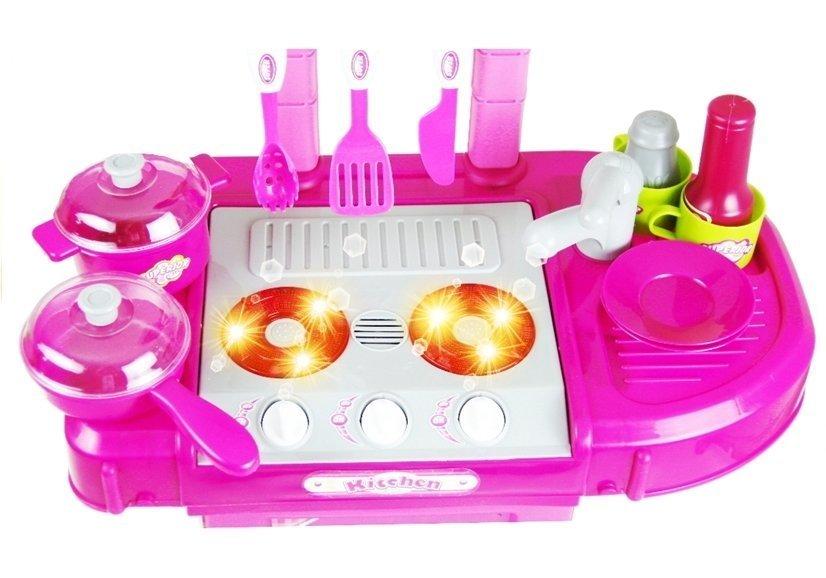 Kinderküche Spielküche Kinder Küche Kinderspielküche im Koffer ROT ...