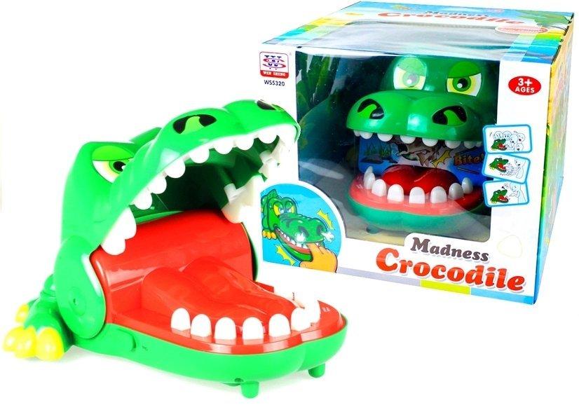 Krokodil zahnarzt gigant sound und lichteffekte