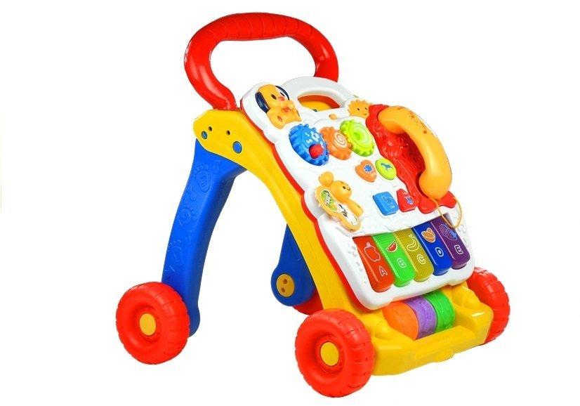 lauflernhilfe laufwagen spielwagen f r baby spielzeug f r babys. Black Bedroom Furniture Sets. Home Design Ideas