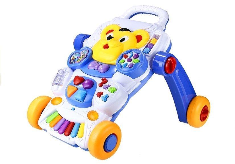Laufwagen spielwagen für baby licht sound englisch