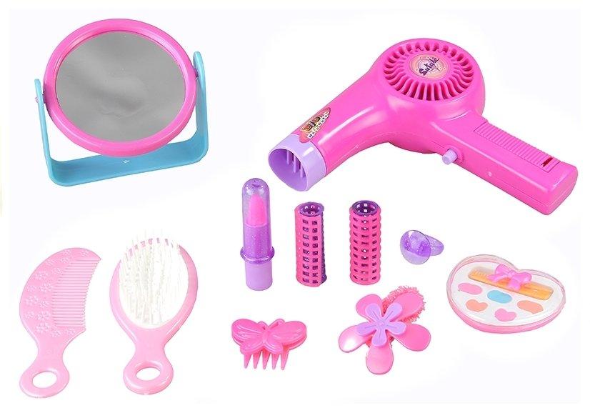 Mädchen spielzeug schönheitsset kosmetik in einer tasche