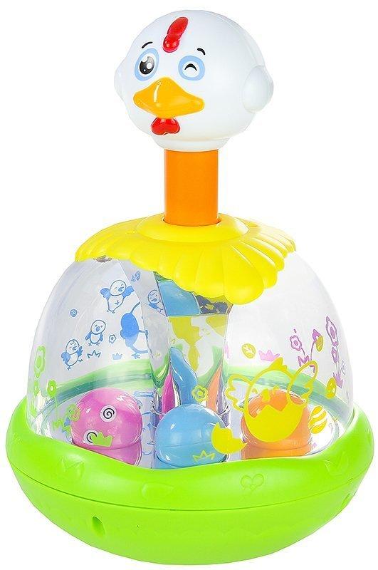 magischer kreisel brummkreisel kinderkreisel h hnchen spielzeug geschenk spielzeug f r babys. Black Bedroom Furniture Sets. Home Design Ideas