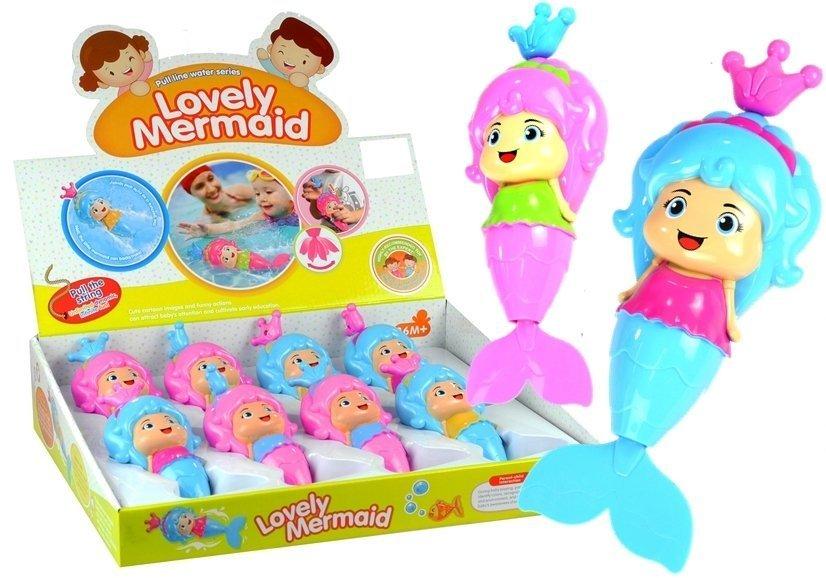 meerjungfrau puppe badespielzeug spielzeug f r kinder blau spielzeug badespielzeug. Black Bedroom Furniture Sets. Home Design Ideas