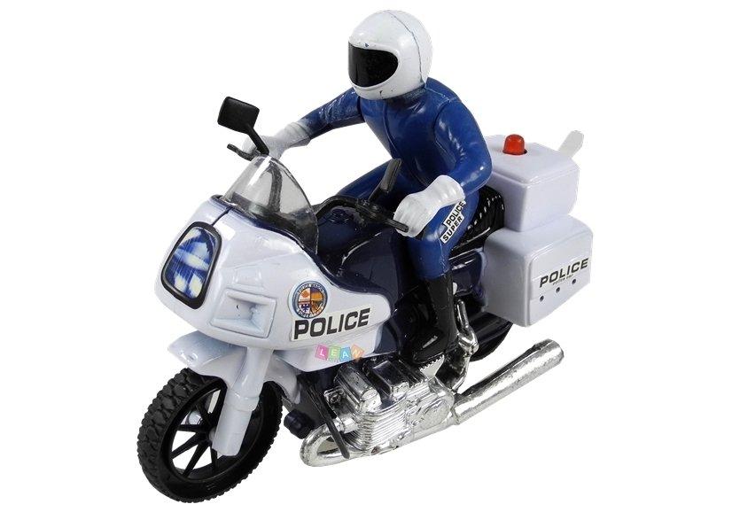 motorrad polizist sound und lichteffekte spielzeug f r. Black Bedroom Furniture Sets. Home Design Ideas